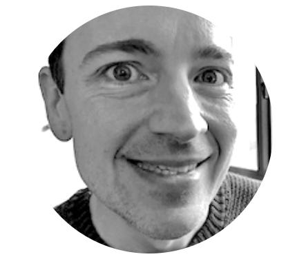 Headshot photo of Dave Baker, founder of Super Copy Editors